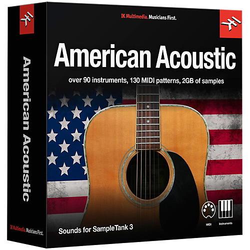 IK Multimedia SampleTank 3 Instrument Collection - American Acoustic