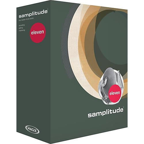 Magix Samplitude 11 upgrade from 8 and Master