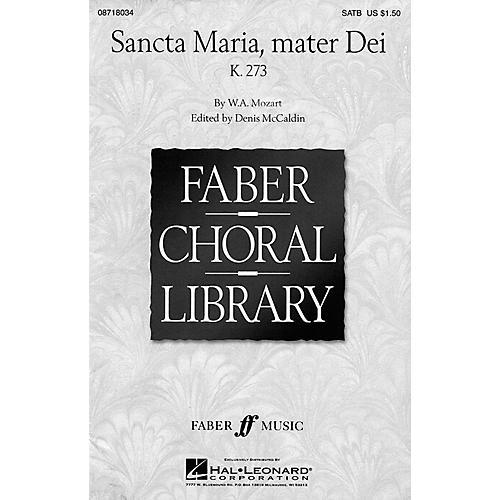 Hal Leonard Sancta Maria, Mater Dei (SATB) SATB arranged by Denis McCaldin