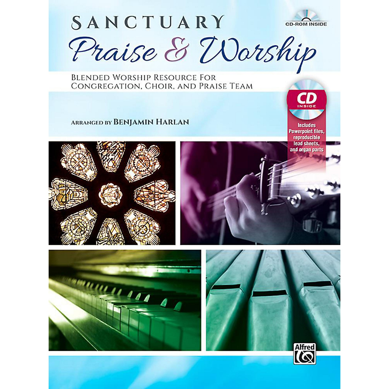 Alfred Sanctuary Praise & Worship - Book & CD-ROM