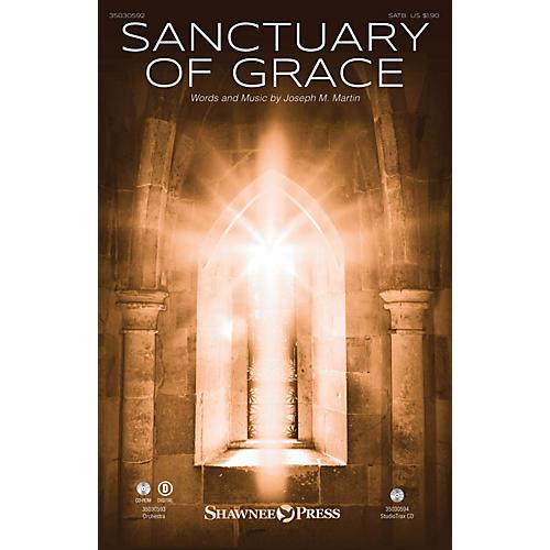 Shawnee Press Sanctuary of Grace Studiotrax CD Composed by Joseph M. Martin