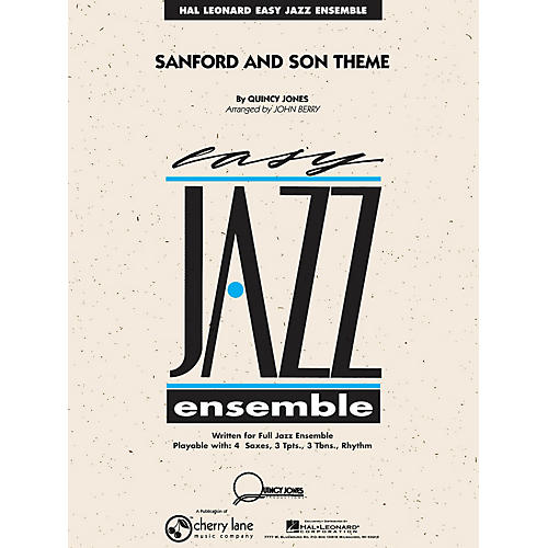 Cherry Lane Sanford and Son Theme Jazz Band Level 2 Arranged by John Berry