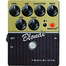 Open Box Tech 21 SansAmp Character Series Blonde V2 Distortion Guitar Effects Pedal