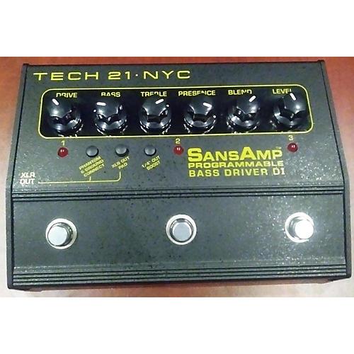Sansamp PBDR Bass Driver DI Bass Effect Pedal