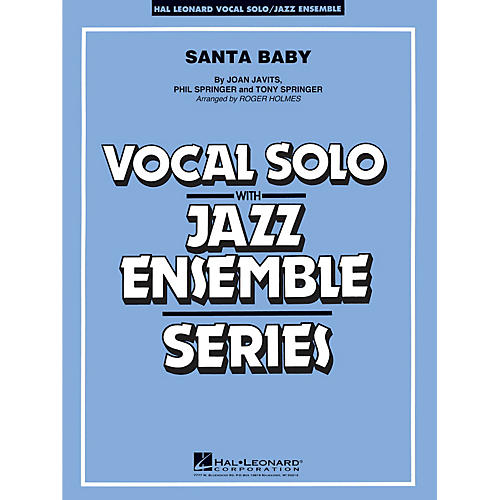 Hal Leonard Santa Baby - Vocal Solo Jazz Ensemble Series Level 4
