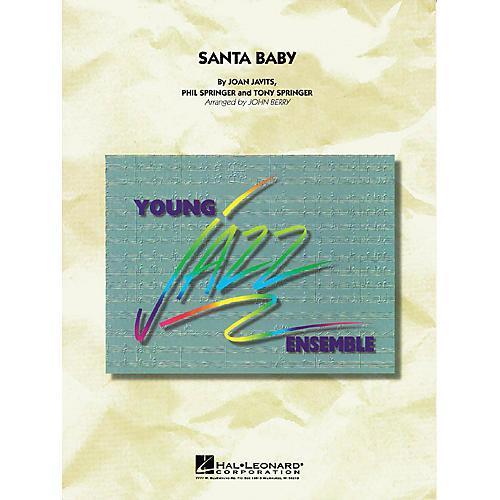 Hal Leonard Santa Baby Jazz Band Level 3 Arranged by John Berry