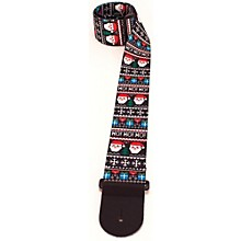 Perri's Santa Ugly Sweater Pattern Guitar Strap