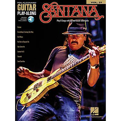 Hal Leonard Santana (Guitar Play-Along Volume 21) Guitar Play-Along Series Softcover Audio Online by Santana