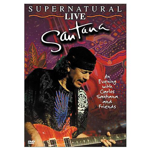 Music CD Santana: Supernatural Live (DVD)