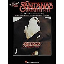 Hal Leonard Santana's Greatest Hits in Full Score