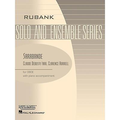 Rubank Publications Sarabande (Oboe Solo with Piano - Grade 3) Rubank Solo/Ensemble Sheet Series