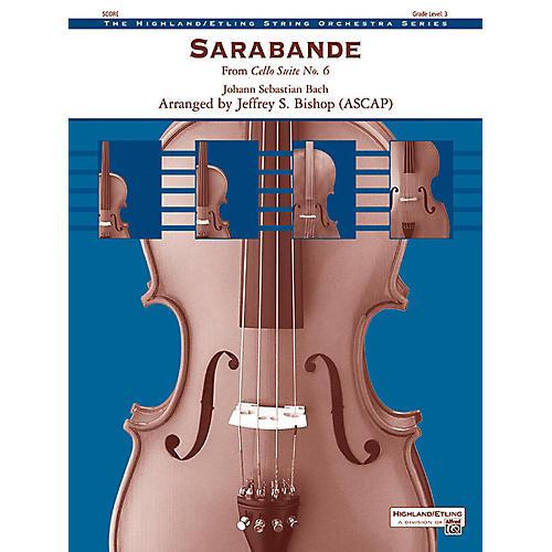 Alfred Sarabande String Orchestra Grade 3