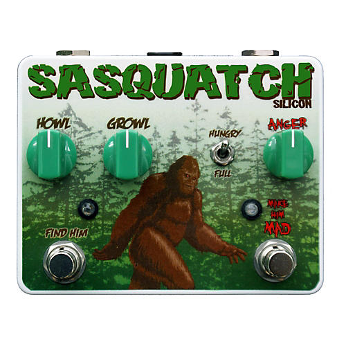 Tortuga Sasquatch Silicon Fuzz Guitar Effects Pedal