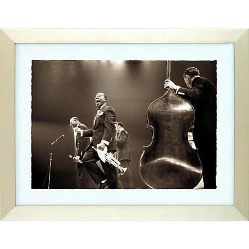 Hulton Archive Satchmo Louis Armstrong Framed Photo Print