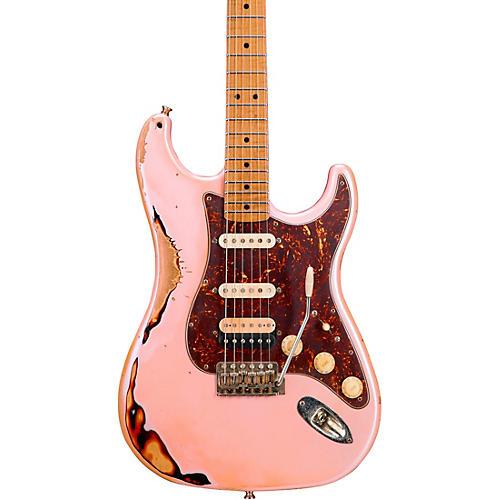 LsL Instruments Saticoy HSS Electric Guitar Ice Pink over 3-Color Sunburst