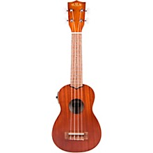 Satin Mahogany Soprano Acoustic-Electric Ukulele