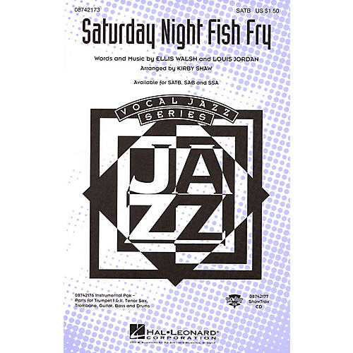 Hal Leonard Saturday Night Fish Fry ShowTrax CD Arranged by Kirby Shaw