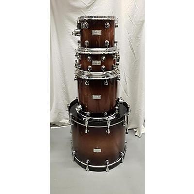 Mapex Saturn 4-Piece Plus Bass Rock 24 Drum Kit