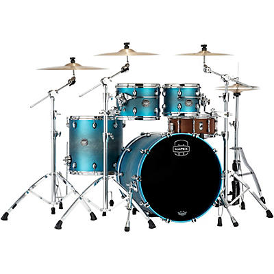 Mapex Saturn Evolution Rock Birch 4-Piece Shell Pack with 22 in. Bass Drum