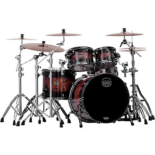 Mapex Saturn IV Exotic 4-Piece Shell Pack with Deep Bass and Shallow Toms