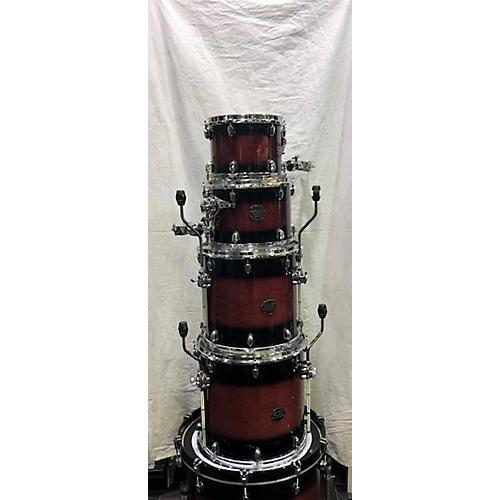 Mapex Saturn Standard Drum Kit Wine Red Burst