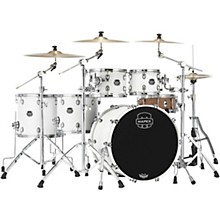 Saturn Studioease 5-Piece Shell Pack with 22 in. Bass Drum Satin White