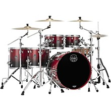 Saturn Studioease 5-Piece Shell Pack with 22 in. Bass Drum Scarlet Fade