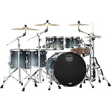 Saturn Studioease 5-Piece Shell Pack with 22 in. Bass Drum Teal Blue Fade