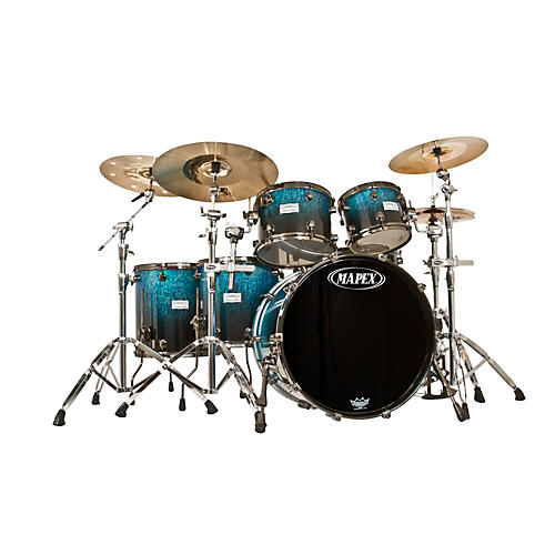 Mapex Saturn Studioease Special Edition Birch/Walnut 5-Piece Shell Pack