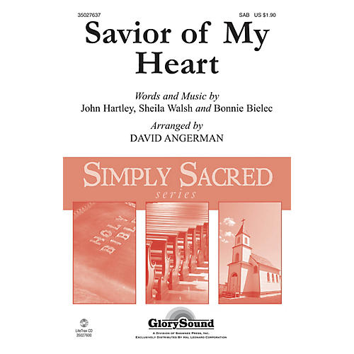 Shawnee Press Savior of My Heart SAB arranged by David Angerman