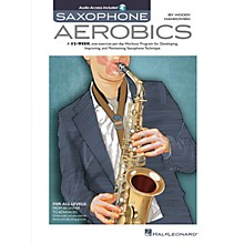 Hal Leonard Saxophone Aerobics Sax Instruction Series Softcover Audio Online Written by Woody Mankowski