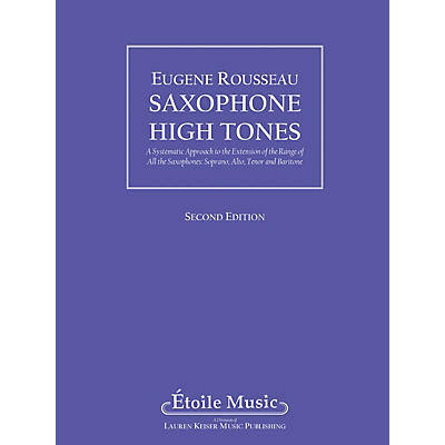 Lauren Keiser Music Publishing Saxophone High Tones LKM Music Series