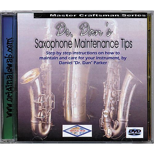 Dr. Dan's Saxophone Maintenance DVD