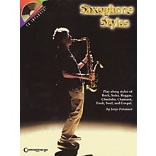 Centerstream Publishing Saxophone Styles Brass Series Book with CD Performed by Jorge Polanuer