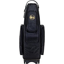 Saxophone Wheelie Bag in Synthetic with Leather Trim Fits 1 Tenor