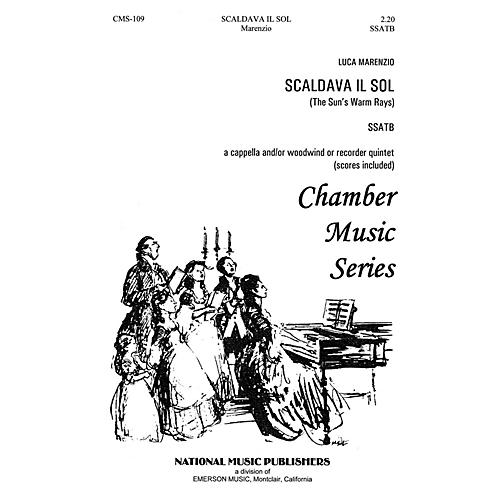 Hal Leonard Scaldava Il Sol SSATB composed by William Hall