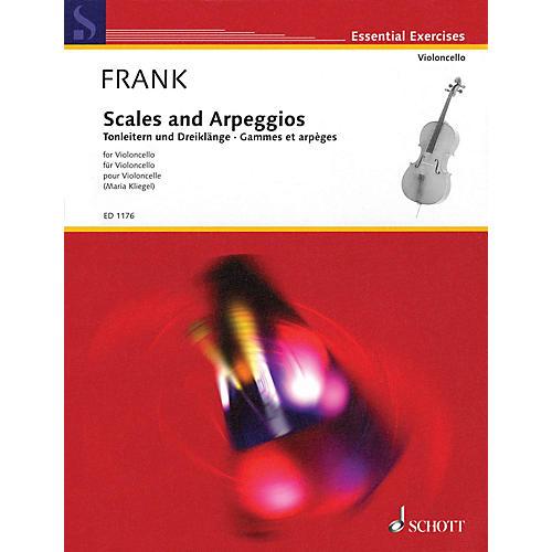Schott Scales and Arpeggios (Cello) Schott Series Softcover