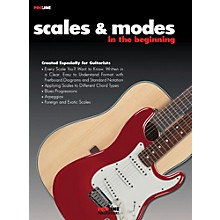 Hal Leonard Scales and Modes In the Beginning Book