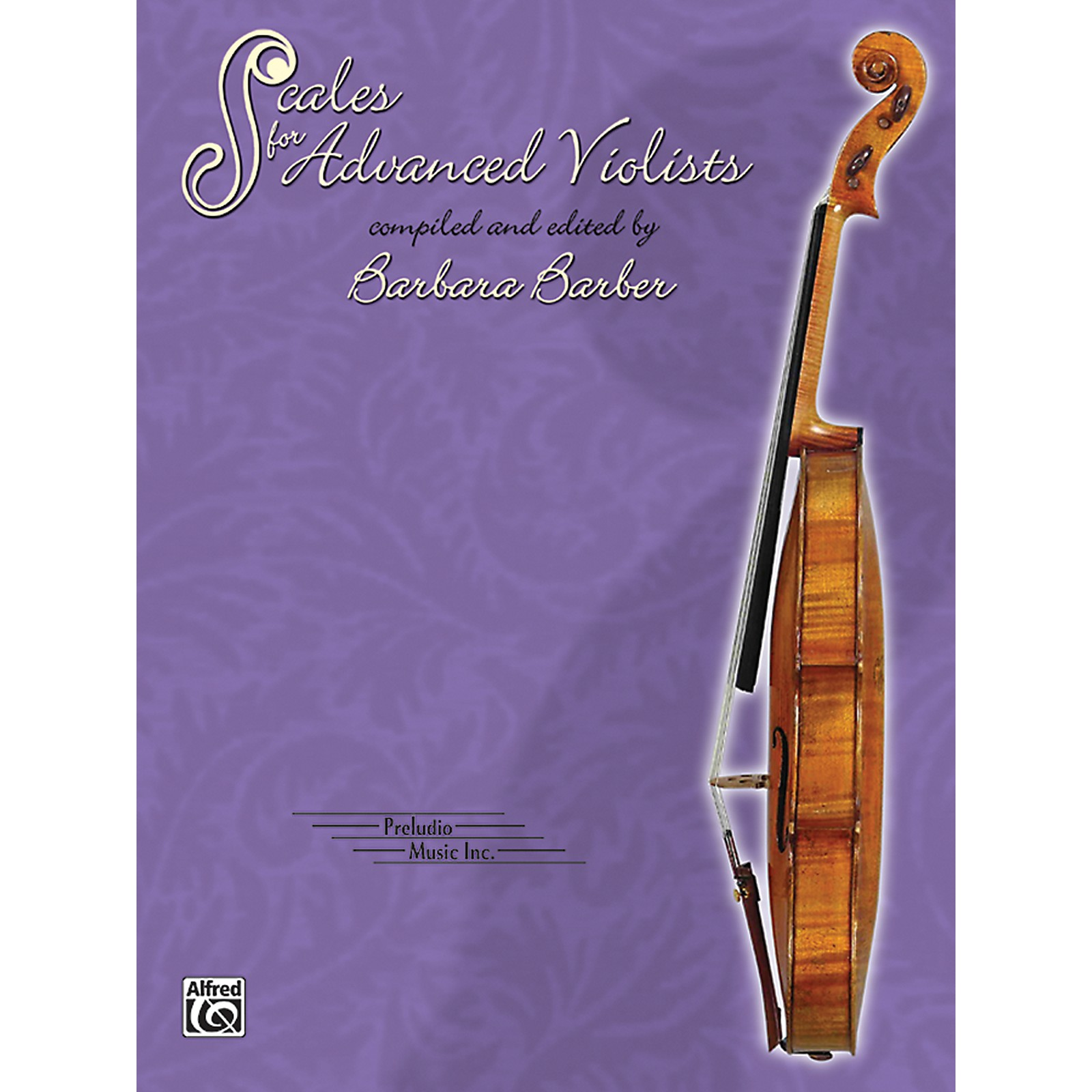 Alfred Scales for Advanced Violists Book