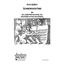 Hal Leonard Scarborough Faire (Choral Music/Octavo Secular Sa) SA Composed by Dewitt, Patti