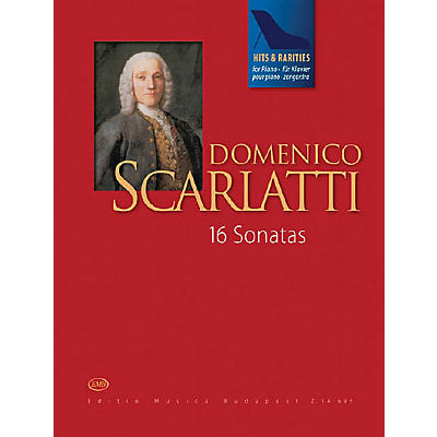 Editio Musica Budapest Scarlatti Hits & Rarities EMB Series Softcover Composed by Domenico Scarlatti Edited by Judit Péteri