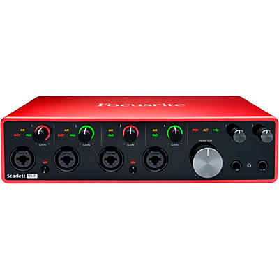 Focusrite Scarlett 18i8 USB Audio Interface (Gen 3)