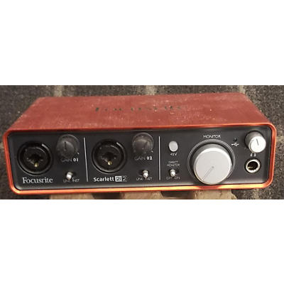 Focusrite Scarlett 2i2 Gen 2 Audio Interface