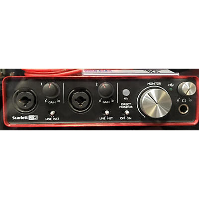 Focusrite Scarlett 2i2 Gen 2 Audio Interface