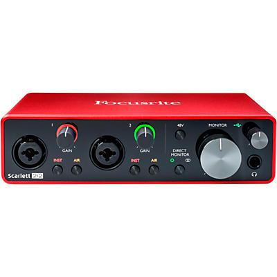 Focusrite Scarlett 2i2 USB Audio Interface (Gen 3)
