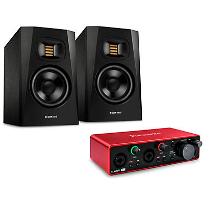 Focusrite Scarlett 2i2 and T5V Bundle