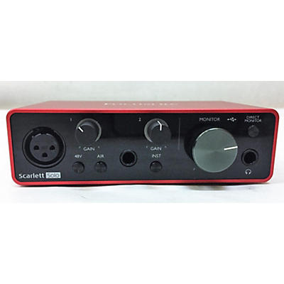 Focusrite Scarlett Solo Gen 3 Audio Interface