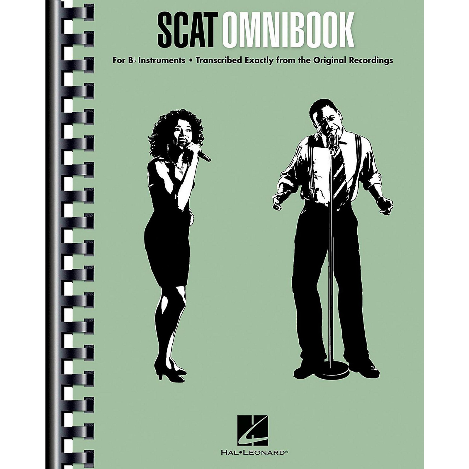 Hal Leonard Scat Omnibook for Vocalists and B-Flat Instruments