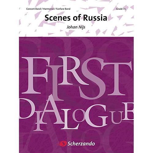 Hal Leonard Scenes Of Russia (grade 2) Full Score Concert Band