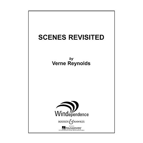 Boosey and Hawkes Scenes Revisited (for Wind Ensemble - Score Only) Concert Band Level 5 Composed by Verne Reynolds